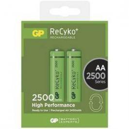 GP ReCyko+ AA, HR06, 2500mAh, Ni-MH, krabička 2ks (1032212110)