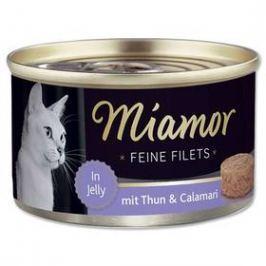 Miamor Filet tuňák + kalamáry v želé 100g