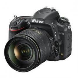 Nikon D750 + 24-120 AF-S ED VR černý