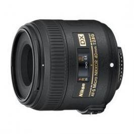 Nikon NIKKOR 40 mm f/2.8G ED AF-S DX MICRO černý