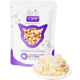 Brit Care KITTEN Chicken & Cheese Pouch 80g