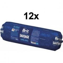 Brit Sausage with Lamb & Rice 12 x 800g
