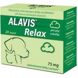 Alavis Relax pro psy a kočky 75mg 20 kapslí