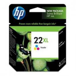 HP No. 22XL, 11ml, 415 stran - originální (C9352CE) červená/modrá/žlutá