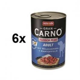 Animonda Adult Gran Carno uzený úhoř + brambory 6 x 400g