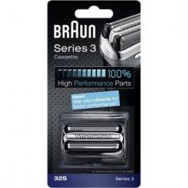 Braun Series3 - 32S Micro comb stříbrné