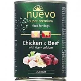 Nuevo Dog Junior kuřecí a hovězí 800 g