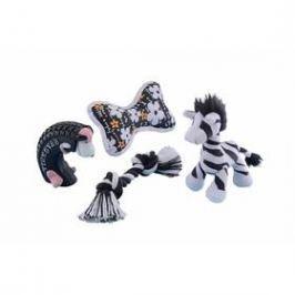 Nobby Startovací set pro psa 4ks černá/bílá