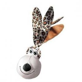 Kong Wubba Floppy Ears XL nylon 46cm bílá/hnědá
