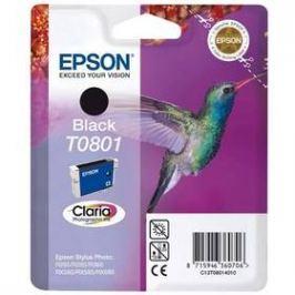 Epson T0801, 7,4ml  - originální (C13T08014011) černá