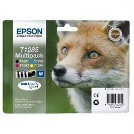 Epson T1285, 16,4ml - originální (C13T12854010) černá/červená/modrá/žlutá