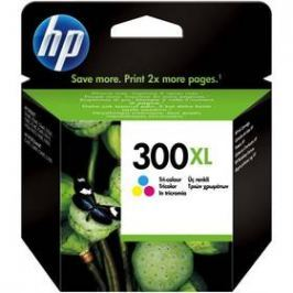HP No. 300XL, 11 ml, 440 stran - originální (CC644EE) červená/modrá/žlutá