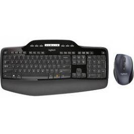 Logitech Wireless Desktop MK710, US, USB Unifying (920-002440) černá