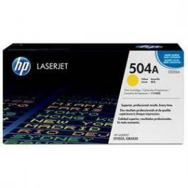 HP 504A, 7000 stran - originální (CE252A) žlutý