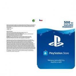 Sony PlayStation Live Cards 500Kč - pouze pro CZ PS Store (PS719894339)