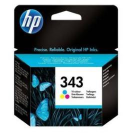 HP No. 343, 7ml, 260 stran - originální (C8766EE) červená/modrá/žlutá