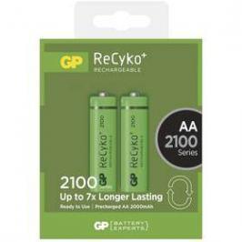 GP ReCyko+ AA, HR06, 2100mAh, Ni-MH, krabička 2ks (1032212070)
