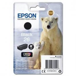 Epson T26, 220 stran, (C13T26014012) černá