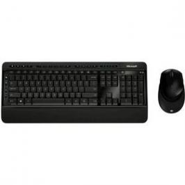 Microsoft Wireless Desktop 3050, CZ/SK (PP3-00021) černá