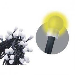EMOS 80 LED, kulička, 8m, řetěz, teplá bílá, časovač,  i venkovní použití (1534090025)