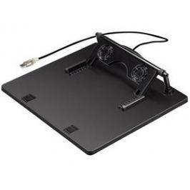 """Hama 1x větrák, USB, pro 17,3"""" (164243) černá"""