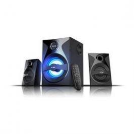 Fenda F&D F380X 2.1, bluetooth, rádio, USB, SD, dálkové ovládání (F380X) černá