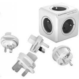 Powercube Rewirable + Travel Plugs - šedý (456307) šedý