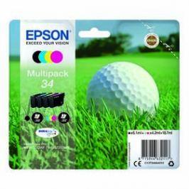 Epson 34, 300/350 stran, CMYK (C13T34664010)