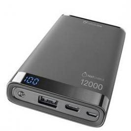 CellularLine Freepower Manta S 12000mAh, USB-C (FREEPMANTA12USBCK) černá