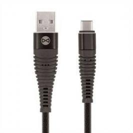Forever USB/USB-C, 1m černý