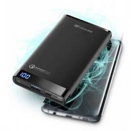 CellularLine Freepower Manta Pro 8000mAh, QC 3.0, USB-C (FREEPMANTA8QCCK) černá