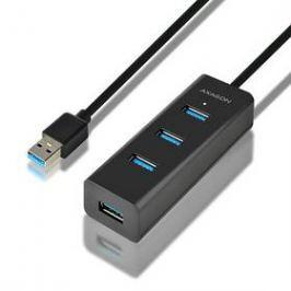 Axagon USB / 4x USB 3.0, 1,2 m (HUE-S2BL) černý