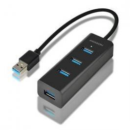Axagon USB / 4x USB 3.0 (HUE-S2B) černý