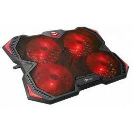 """C-Tech Zefyros, červené podsvícení, pro 17,3"""" (GCP-01R)"""