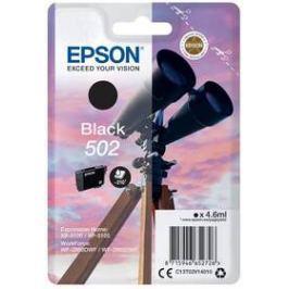 Epson 502, 210 stran (C13T02V14010) černá