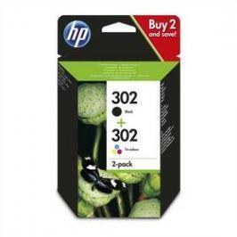 HP 302, 165/190 stran, CMYK (X4D37AE)
