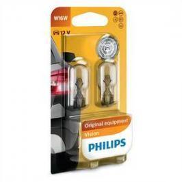 Philips Vision W16W, 2ks (12067B2)
