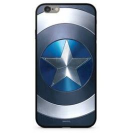 Marvel Premium Glass Captain America pro Apple iPhone XR (MPCCAPAM10307) modrý