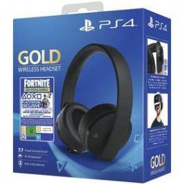 Sony Gold Wireless pro PS4 + Fortnite balíček (PS719959809) černý