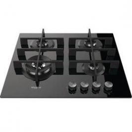 Whirlpool W Collection GOW 6423/NB EE černá/sklo