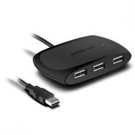 Speed Link Snappy USB 2.0 / 4 x USB 2.0 (SL-140011-BK) černý