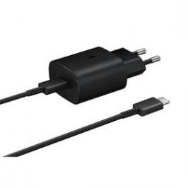 Samsung EP-TA800, rychlonabíjení, USB-C, 25W, kabel 1m (EP-TA800XBEGWW) černá