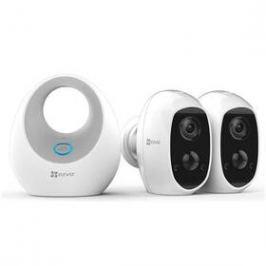 EZVIZ Battery Camera Duo Pack (2x C3A+1x W2D) (CS-W2D-B2-EUP)