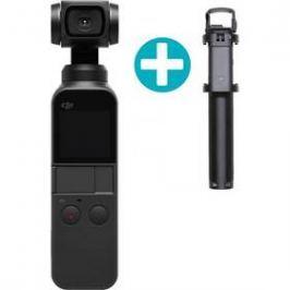 DJI OSMO Pocket + teleskop. tyč zdarma černá