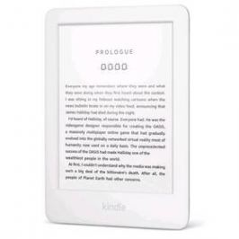 Amazon Kindle Touch 2019 s reklamou (EBKAM1150) bílá
