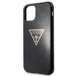 Guess Solid Glitter pro Apple iPhone 11 Pro Max (GUHCN65SGTLBK) černý
