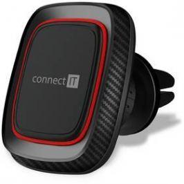 Connect IT InCarz 4Strong360 Carbon, magnetický, do mřížky (CMC-4045-RD) černý/červený