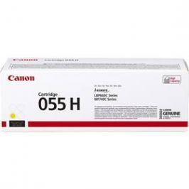 Canon CRG 055 H, 5900 stran (3017C002) žlutý