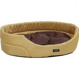 Argi pro psa oválný s polštářem - XS hnědý