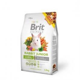 Brit Animals Rabbit Junior Complete pro hlodavce 1,5kg
